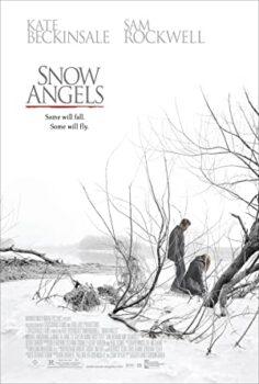 Angyal a hóban
